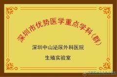 深圳市優勢醫學重點學科